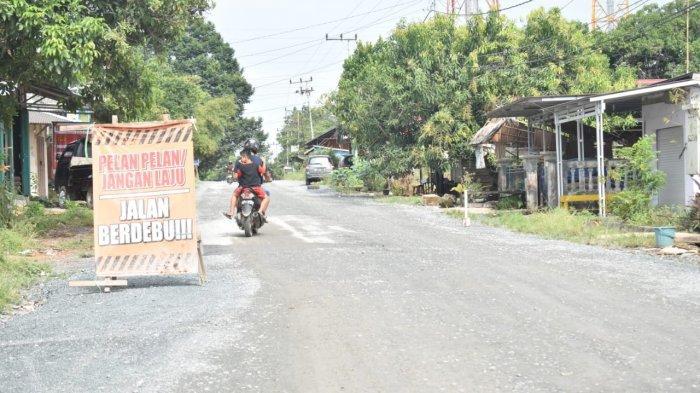 Pengaspalan Jalur Alternatif Atilam-Kunyit Segera Dilakukan, PUPRP Tala Targetkan Dua Bulan