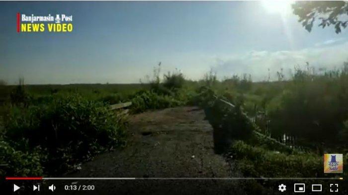 YTH Bapak Gubernur dan Bupati Tapin, Tolong Buatkan Jalan Pintas Desa Antarkabupaten