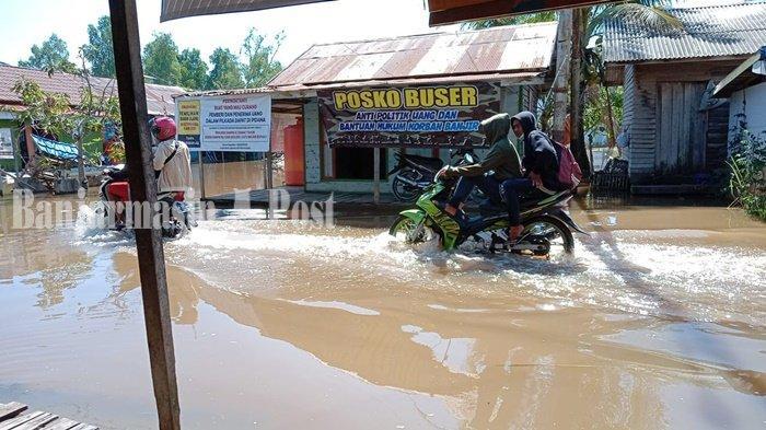 Banjir Rob di Aluhaluh, Begini Tanggapan Pejabat Pemerintah Kabupaten Banjar