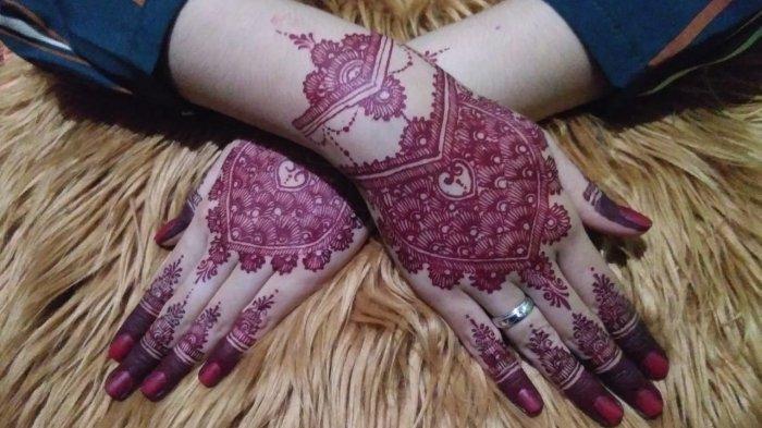 Jasa Henna Kian Diminati, Ada Dua Jenis Henna Favorit Costumer Durasi Pengerjaan Hingga 2 Jam