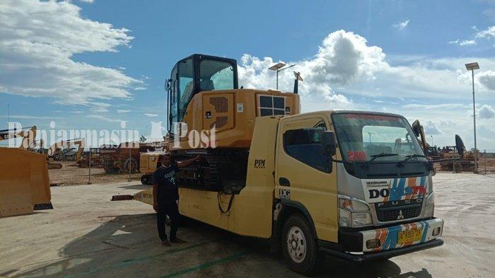 Jasa Towing Mobil di Banjarmasin Tak Seramai Ketika Banjir, Pengusaha Sasar ke Kalteng