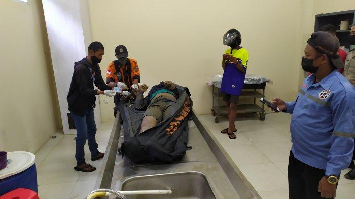 Begini Kondisi Mayat Korban Tenggelam Insiden Truk Tercebur di Pelabuhan Trisakti Banjarmasin