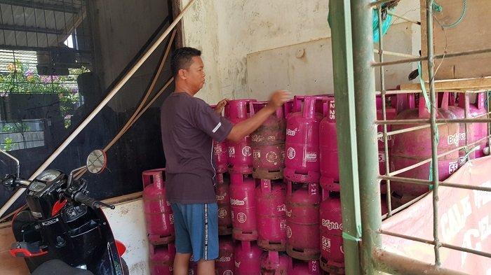 Gas Elpiji Pink di Tala Langka, Pengecer Sarankan Pemkab Tala Minta Tambahan Pasokan ke Pertamina