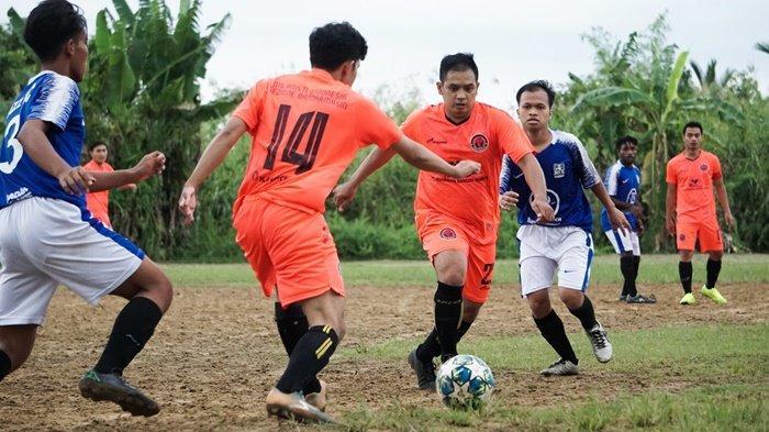 Tim AC Mesin Kalahkan Jazz FC di Liga Internal Peseban Banjarmasin Putaran Kedua