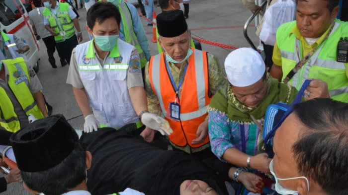 Jemaah Haji Keloter 1 Tiba, jumlahnya Alhamdulilah lengkap