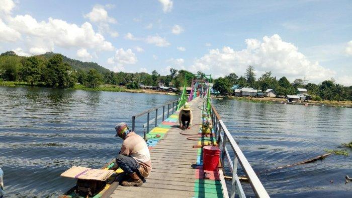 Pernah Anjlok, Kini Jembatan Mandikapau Diperkuat, Pengunjung Tidak Perlu Khawatir