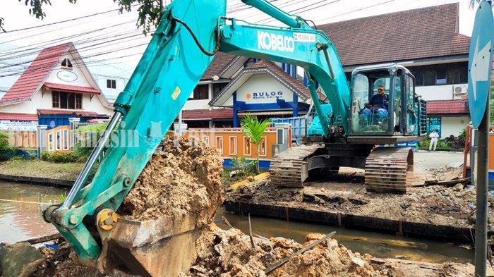 Satgas Normalisasi Sungai Siapkan Contoh Jembatan untuk Dua Jalan di Banjarmasin