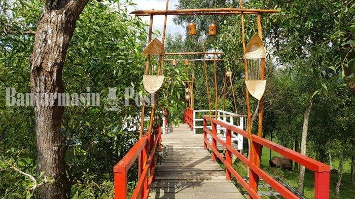 Wisata Kalsel, Ubah Area Penggembalaan Sapi Jadi Taman Permana yang Mempesona