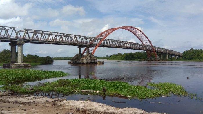 Wisata Kalteng, Kawasan Bawah Jembatan Kahayan Palangkaraya, Bisa Langsung ke Taman Pasuk Kameloh