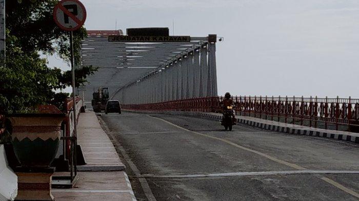 Bercirikan Motif Khas Kalteng, Jembatan Kahayan Ikon Kota Kebanggaan Warga Palangkaraya