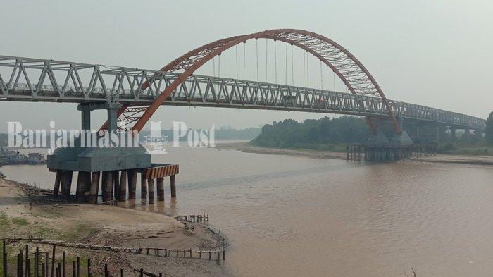 Debit Air Meninggi, Sungai Kahayan Palangkaraya Rentan Meluap, Warga Mengaku Sudah Terbiasa