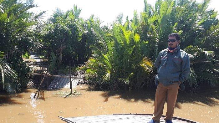 Sering Makan Korban, Jembatan Layap Baru Diperbaiki Swadaya Desa
