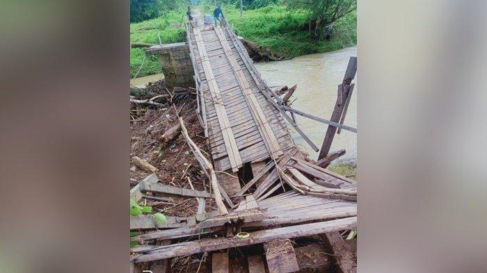 Jembatan Batuharang Putus, PUPR Kabupaten Tanbu dan DPRD Koordinasi ke Balai Jalan