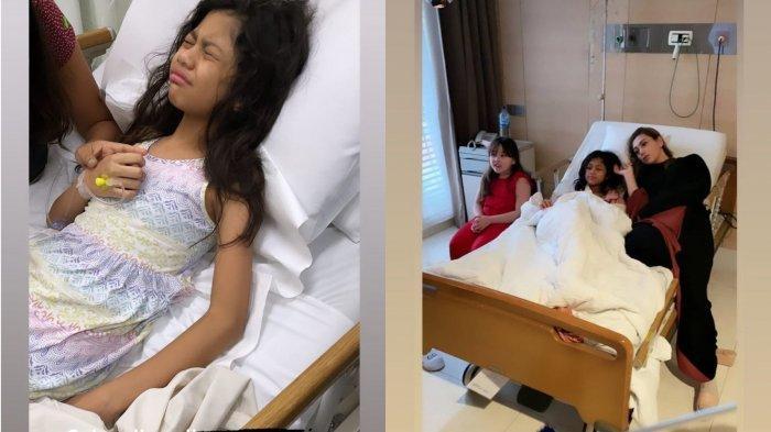 Anak Celine Evangelista Masuk Rumah Sakit, Kondisi Jemima Diungkap Istri Stefan William