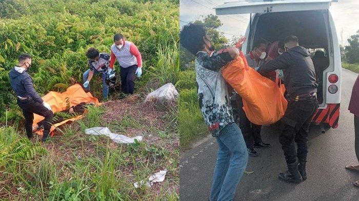 Tewas di Semak Jalan Lingkar Luar Palangkaraya Kalteng, Pria 21 Tahun Diduga Alami Laka Tunggal