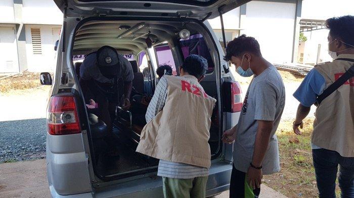 Suami Gantung Diri di Toko Bangunan di Peliahari Kabupaten Tala, Begini Penuturan Istri