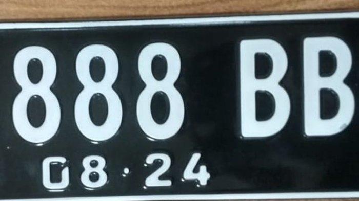 ilustrasi: Jenis Huruf dan Angka Pada Plat Nomor Cantik