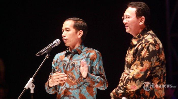 Polah Ahok BTP di Depan Jokowi Heboh & Viral, Pakar Ekspresi Ungkap Sikap Suami Puput Nastiti Devi
