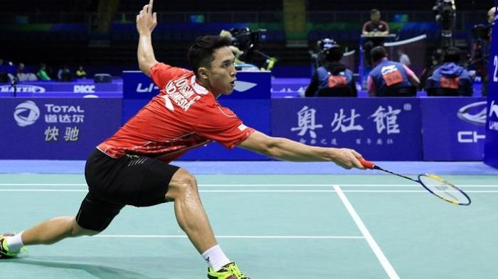 Live Streaming Badminton Perempat Final Malaysia Masters 2018 : Tantangan Berat Jonatan Christie
