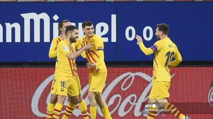 Susunan Pemain Valencia vs Barcelona di Liga Spanyol, Lionel Messi Starter