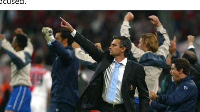 Saat 16 Besar Liga Champions 2004 Semua Pemain Porto Cueki Perintah Jose Mourinho