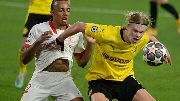 Live SCTV & Live Streaming TV Online Besiktas vs Dortmund di Liga Champions: Pembuktian Haaland