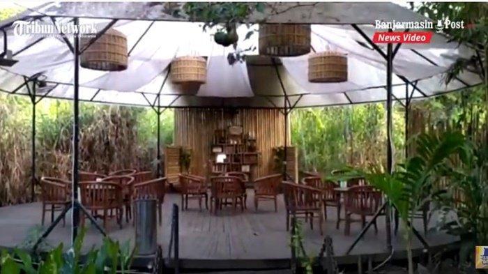 VIDEO Jungle Coffee Bar Banjarmasin Juga Menawarkan Sensasi Nuansa Alam