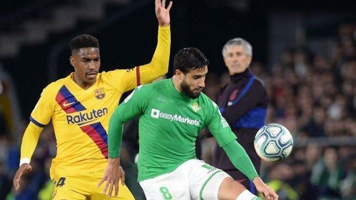Persaingan AC Milan & West Ham Dapatkan Junior Firpo di Bursa Transfer, Barcelona Ragu Meminjamkan
