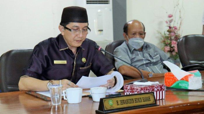 Paripurna Penyampaian Raperda DPRD Tapin, Partai PKB Sampaikan Usulan Hak Inisiatif Dewan