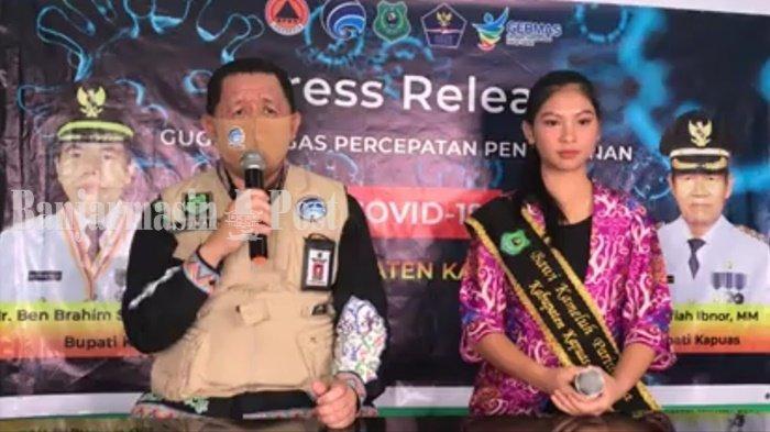Update Covid-19 Kapuas: Sembuh 201 Orang, Dalam Perawatan Tetap 14 Orang