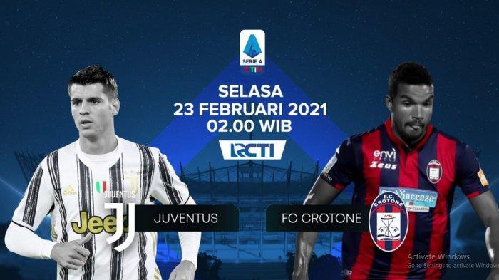 Juventus vs Crotone Serie A Live RCTI, Buffon Starter demi Menang Lagi & Kejar Duo Inter & AC Milan