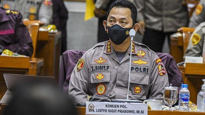 Jokowi Lantik Komjen Listyo Sigit Jadi Kapolri Hari Ini Rabu 27 Januari, Usai Divaksin Covid-19 ke-2