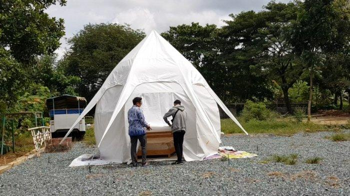 Glamping Pantai Batakan Tak Kunjung Dipasang, Dispar Tala Targetkan Juli Nanti