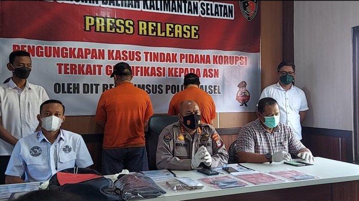 Kasus Korupsi Pengadaan Barang di RSUD Ulin, Polda Kalsel : Dua Tersangka Ditangkap OTT