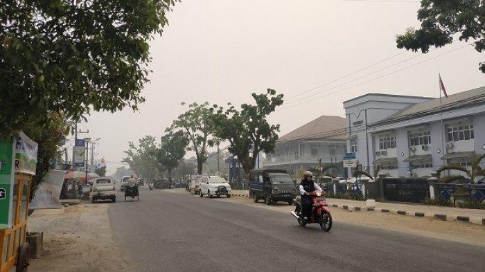Anak Sekolah Banyak yang Sesar Nafas, Pencemaran Udara di HST Belum Diukur, Terkendala Anggaran?