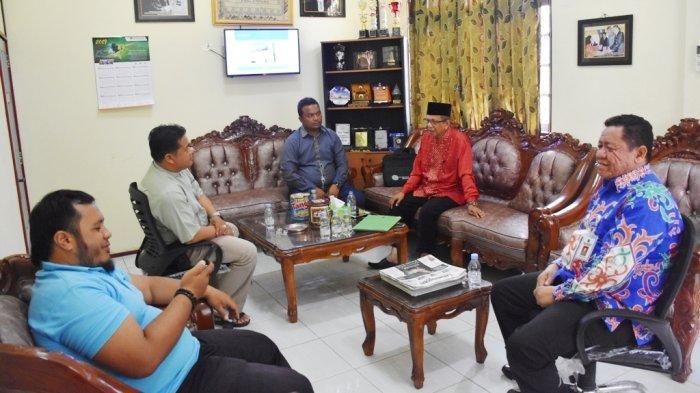 Sambangi Kominfo Kapuas, PCNU Minta Dukungan untuk Pelaksanaan MKNU