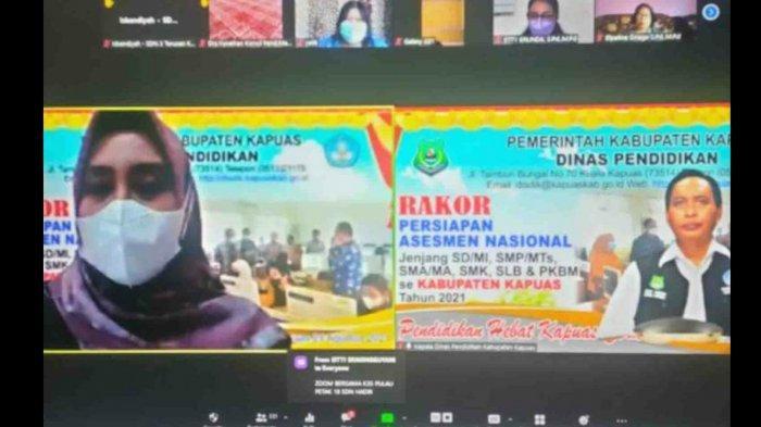 Disdik Kapuas Minta Kepala Sekolah Persiapkan Matang Sarana Prasarana Asesmen Nasional