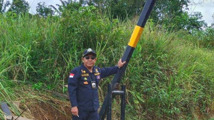 Ada Pemasangan Portal Inhutani, Kadishub Kotabaru Turun Langsung ke Lapangan