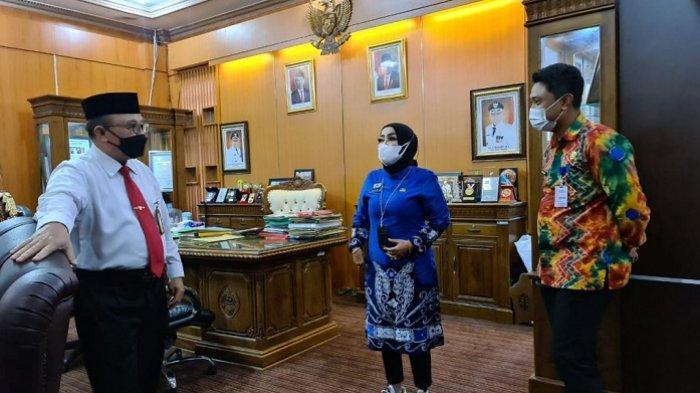 Tiingkatkan Minat Baca, Kadispersip Kalsel Dapatkan Dukungan dari Bupati Tabalong