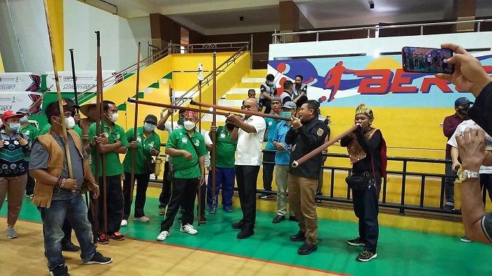 Festival Olahraga Lima Cabor di Banjarmasin Resmi Dimulai, Para Atlet Mulai Berlomba