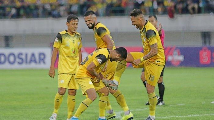 Kado Akhir Tahun Barito Putera, Menang Telak Lawan Arema FC, Ini Posisi di Klasemen Liga 1 2019