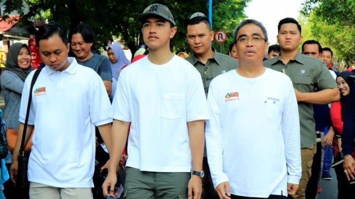 Kaesang Pangarep dan Darmawan Jaya Ikuti Jalan Santai