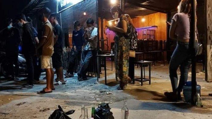Gelar Pesta Miras dan Langgar Protokol Kesehatan, Kafe di Palangkaraya Dibubarkan Polisi