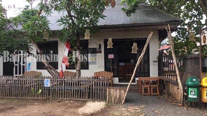Kuliner Kalsel, R Coffee and Food Lokasi Santai Ngopi Pinggir Sungai di Banjarmasin