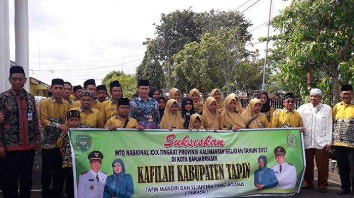 Gema Selawat Iringi Keberangkatan Kafilah Tapin