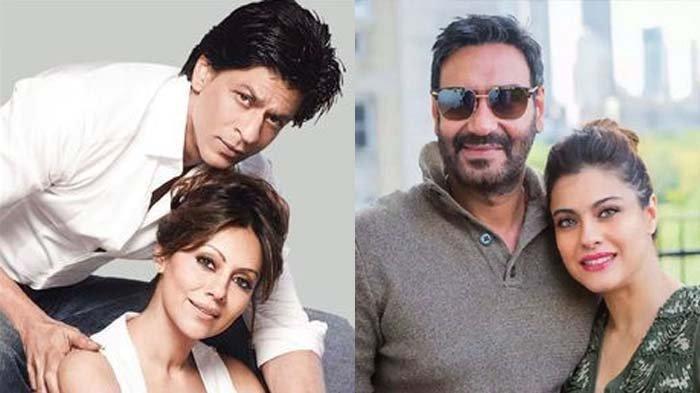 Dulu Shah Rukh Khan Disebut Jadi Jodohnya, Kini Kajol Rayakan Ultah Pernikahan dengan Ajay Devgan