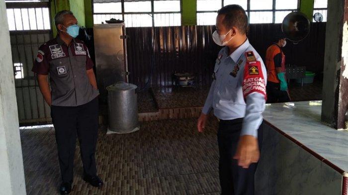 Kunjungi Rutan Marabahan, Kakanwil Kemenkumham Kalsel Minta Warga Binaan Dilayani Maksimal