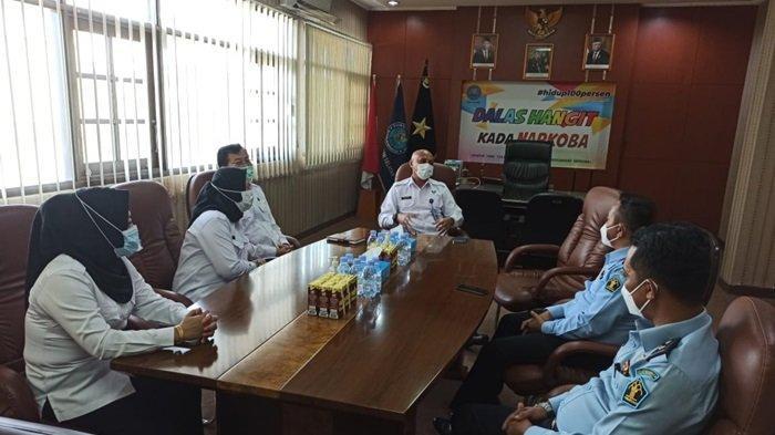 Kepala Lapas Karang Intan Kunjungi BNN Kalsel, Bahas P4GN dan Program Pascarehabilitasi Warga Binaan