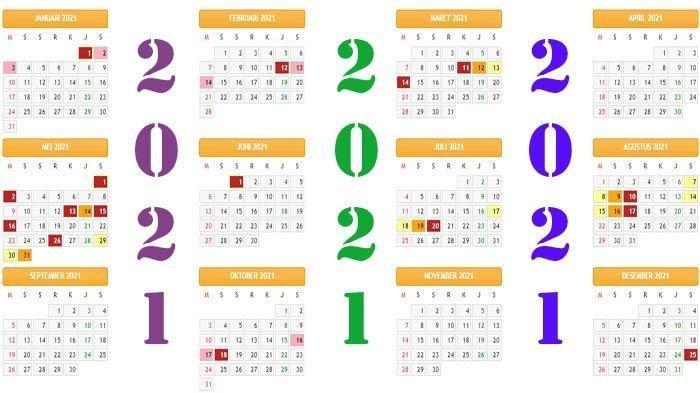 Daftar Libur Nasional 2021 Ada 16 Hari Libur Idul Fitri Idul Adha Curi Bersama Di Kalender 2021 Banjarmasin Post