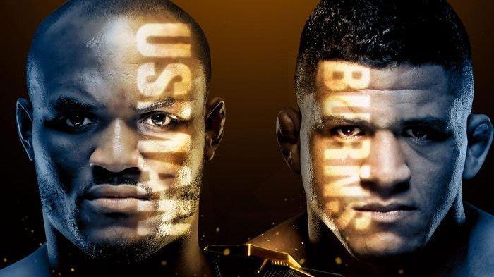 Hasil UFC Hari Ini : Kamaru Usman Kalahkan Gilbert Burns Hanya dalam Tiga Ronde